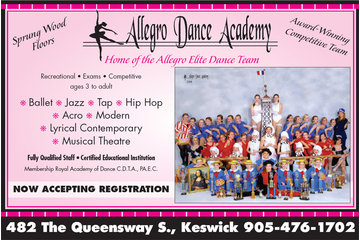 Allegro Dance Academy  Stouffville / Keswick