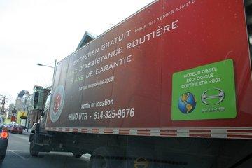 Centre du Camion UTR Inc à Saint-Léonard