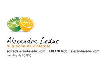 Alexandra Leduc Nutritionniste-Diététiste