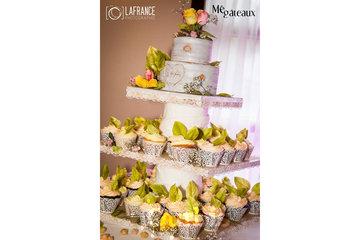 Mé Gâteaux - Gateaux personnalisés et gâteaux de mariage à Terrebonne: Gâteau de mariage / cup cakes