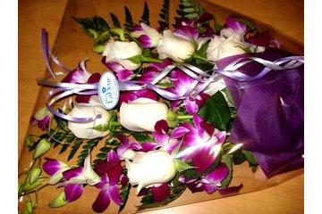 Madame Lafleur in Montréal: orchids and tulips