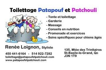 Toilettage Patapouf et Patchouli