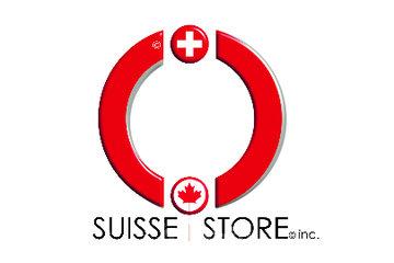 Suisse Store inc. in Scott: Logo