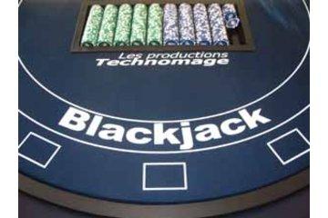 Les Productions Technomage à Laval: Table de Casino VIP