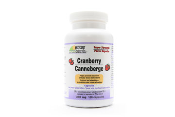 Westcoast Naturals in Richmond: Cranberry 300 mg 100 caps
