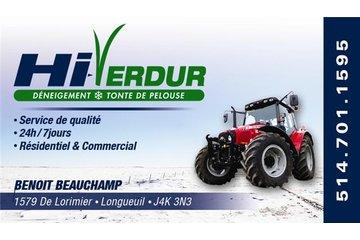 Hi-Verdur (Déneigement - Tonte de pelouse) (Snow Removal - Grass) à Longueuil