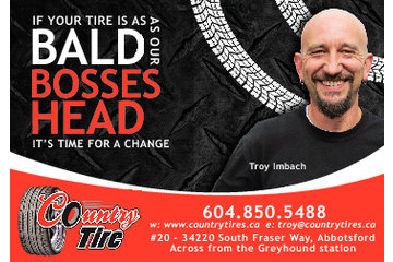 Country Tire in Abbotsford: Our ad