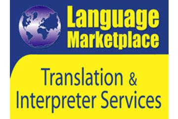 Language marketplace translation services