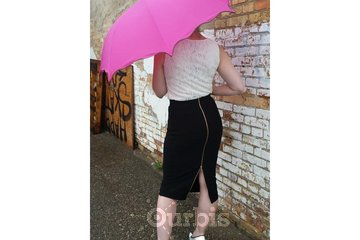 Cranberry Rose Boutique & Tea House in Moose Jaw: Joseph Ribkoff Skirt #164310