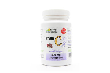 Westcoast Naturals in Richmond: Vitamin C w/ Natural Rosehips 500 mg 180 caps