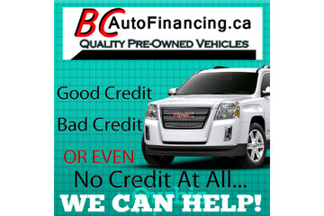 BC Auto Financing & Bad Credit Car Loans