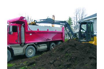 Concept Paysager Leblanc Inc à St-Eustache: Transport en vrac, top-soil, terre