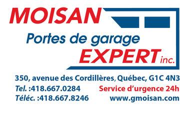 Moisan Portes de Garage Expert Inc