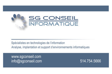 SG Conseil Informatique