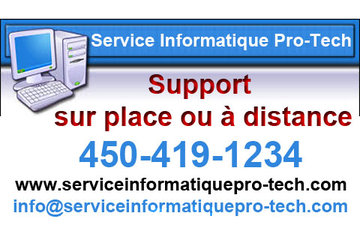 Service Informatique Pro-Tech à Saint-Jerome
