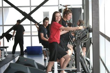 Collège St Jean Vianney à Montréal: Salle d'entraînement du CSJV