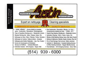 Austin Services De Nettoyage in Montréal