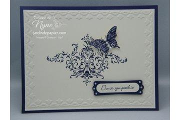 Mlle Papier à Brossard: Exemple de carte simple et facile montrée dans mes ateliers