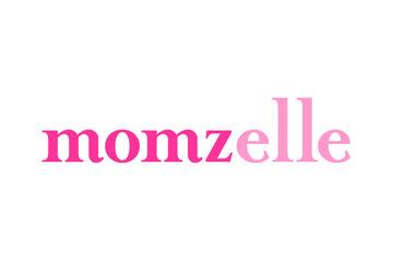 Vêtements d'allaitement Momzelle à Montréal: Logo des vêtements d'allaitement Momzelle
