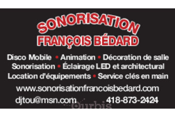 Sonorisation François Bédard