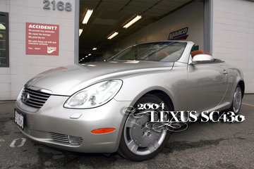 Maaco Collision Repair & Auto Painting in Burnaby: 2004 Lexus SC430