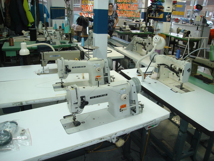 D cary machines a coudre inc laval qc ourbis for Machine a coudre 70 euro