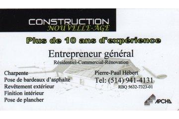 CONSTRUCTION NOUVELLE-ÂGE à Vaudreuil-Dorion