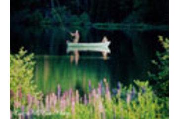 Auberge Lac à L'Eau Claire in Saint-Alexis-des-Monts: Pêche sur le Lac Bienvenue