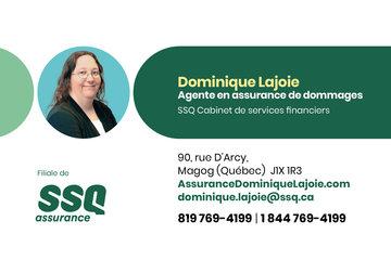 Dominique Lajoie, agente en assurance de dommages affiliée à SSQ Cabinet de services financiers