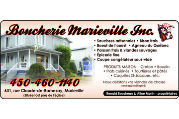 Boucherie Marieville Inc in Marieville