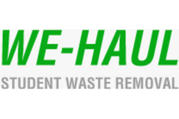 We-Haul Student Junk Removal Service