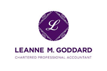 Leanne M. Goddard, Chartered Professional Accountant in Cranbrook: Logo