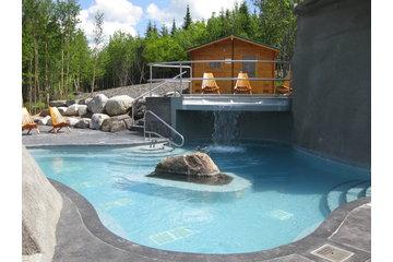 Spa Le Montagnais in Val-Racine: Bassin extérieur chaud