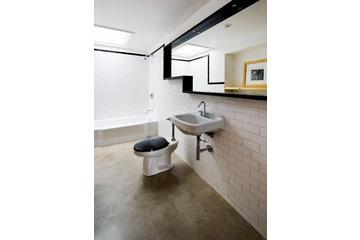 Atelier B Comptoir Polissage in Montréal: plancher de béton chauffant