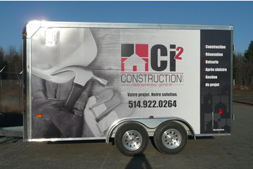 Ci2 Construction inc. in Mascouche: Remorque