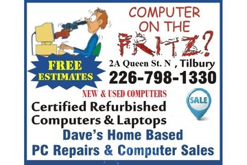 Daves Home Based PC Repairs & Computer Sales