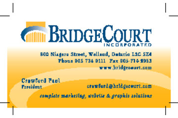 Bridgecourt Inc