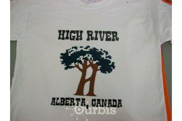 Foothills Custom Promotionals in High River: High River Alberta Canada Custom T-Shirt