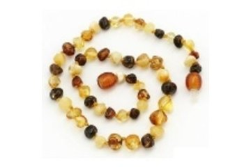Storks & Berries in Peterborough: Baltic Amber Teething Necklace