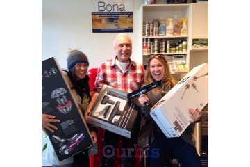 Burrard Vacuums & Appliances in Vancouver: Were all family at BVA!