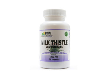 Westcoast Naturals in Richmond: Milk Thistle 250 mg 50 caps