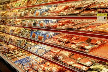 Marché Laurier à Montréal: Viande fraîche