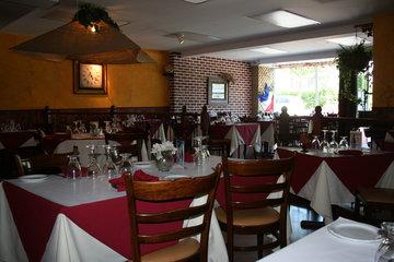 Restaurant Le Boeuf Gourmand in Montréal: vue d ensemble interieur