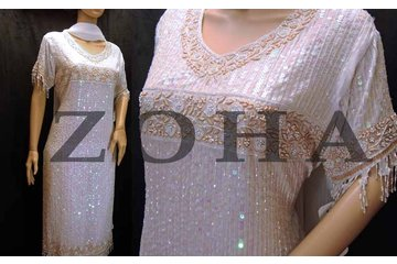 ZOHA South Asian Boutique in Mississauga: Hand work White