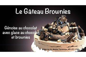 Crémerie Des Moulins in Terrebonne: Gâteau brownies