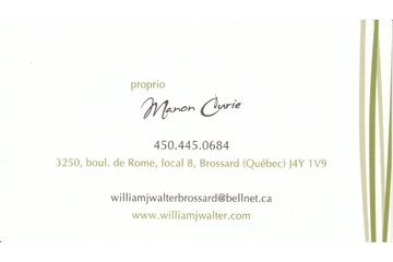 William J Walter Brossard in Brossard: Carte d'affaire