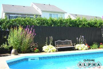 Cloture Alpha Inc à L'Ancienne-Lorette: Cloture de piscine