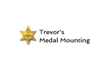 Trevor's Medal Mounting