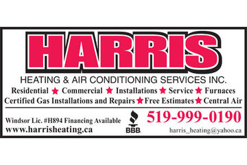 Harris Heating & Air Conditioning Services Inc.