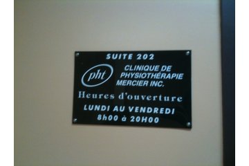 Clinique De Physiothérapie Mercier Inc